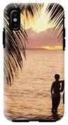 Silhouetted Couple IPhone X Tough Case