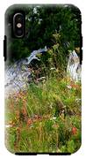 Silver Forest Meadow IPhone X Tough Case