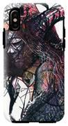Sketchy Diva IPhone X Tough Case