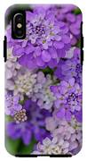 Small Pink Flowers 10 IPhone X Tough Case