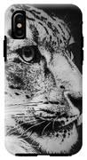 Snow Leopard IPhone X Tough Case