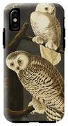 Snowy Owl IPhone X Tough Case