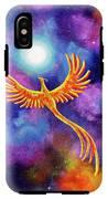 Soaring Firebird In A Cosmic Sky IPhone X Tough Case