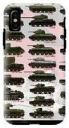 Soviet Tanks Ww2 IPhone X Tough Case