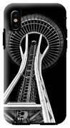 Space Needle IPhone X Tough Case