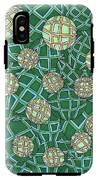 Spheres Cluster Green IPhone X Tough Case