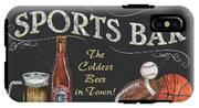 Sports Bar IPhone X Tough Case
