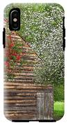 Spring Flowers And The Barn IPhone X Tough Case