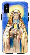 St. Clare Of Assisi IPhone X Tough Case
