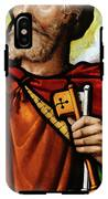 Stained Glass Window, St Peter IPhone X Tough Case