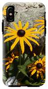 Stone Flowers Black Eyed Susan IPhone X Tough Case