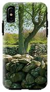 Stone Wall In Rhode Island IPhone X Tough Case