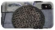 Storm Drain IPhone X Tough Case