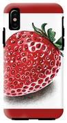 Strawberry Bite IPhone X Tough Case