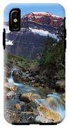 Stream And Mt. Edith Cavell At Sunset IPhone X Tough Case
