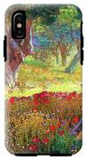 Poppies And Olive Trees IPhone X Tough Case