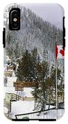 Sulphur Mountain In Banff National Park In The Canadian Rocky Mountains IPhone X Tough Case