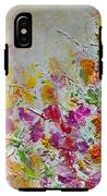 Summer Fragrance Abstract Painting IPhone X Tough Case