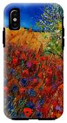 Summer Landscape With Poppies  IPhone X Tough Case