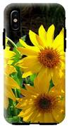 Sunlit Wild Sunflowers IPhone X Tough Case