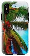 Sunny Palms IPhone X Tough Case