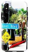 Sunset Blvd IPhone X Tough Case