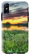 Sunset West Crooked Lake IPhone X Tough Case