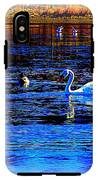 When It Seems Like The Swans Are Ruling The Sea  IPhone X Tough Case