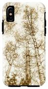 Tall Aspens IPhone X Tough Case