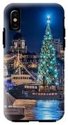 The Beautiful, Freshly Renovated Katarina Church And The Gigantic Christmas Tree In Stockholm IPhone X Tough Case