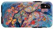 The Butterflies On Blue IPhone X Tough Case