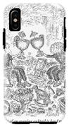 The Delight Of An Evening Cocktail  IPhone X Tough Case