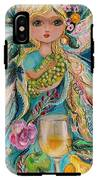 The Fairies Of Wine Series - Chardonnay IPhone X Tough Case