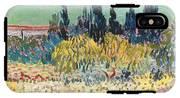 The Garden At Arles  IPhone X Tough Case