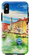 The Grand Canal Venice  IPhone X Tough Case