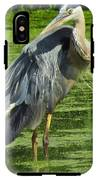 The Great Blue Heron IPhone X Tough Case