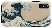 The Great Wave Of Kanagawa IPhone X Tough Case
