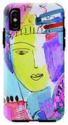The Joy Of Contemplation And Color IPhone X Tough Case