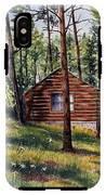 The Log Cabin IPhone X Tough Case