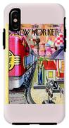 New Yorker December 17th, 1955 IPhone X Tough Case