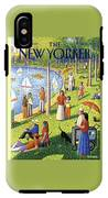 The New Yorker Cover - July 15th, 1991 IPhone X Tough Case