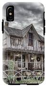The Old Wood House Rogue Valley Oregon IPhone X Tough Case