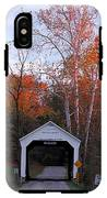 The Phillips Covered Bridge IPhone X Tough Case