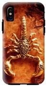 The Scorpion Scarab IPhone X Tough Case