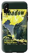 The Shadow The Mystery Of The Toll Of Death IPhone X Tough Case