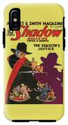 The Shadow The Shadows Justice IPhone X Tough Case