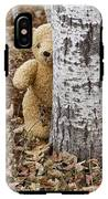 The Teddy Bear In The Woods IPhone X Tough Case