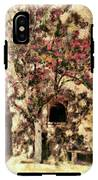 The Tree In The Corner Of The Courtyard IPhone X Tough Case