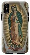 The Virgin Of Guadalupe With The Four Apparitions IPhone X Tough Case
