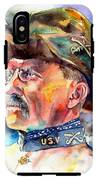 Theodore Roosevelt Painting IPhone X Tough Case